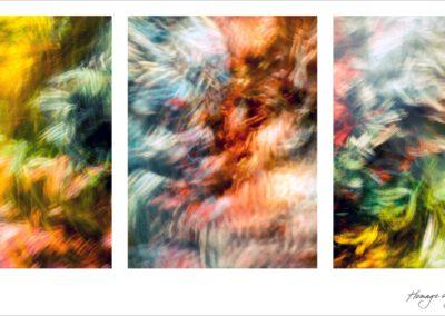 Paul Kloek - Hommage aan Jackson Pollock
